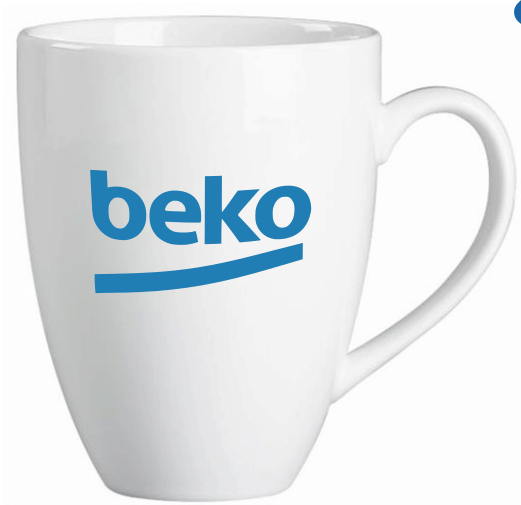 Promosyon Kupa Bardak - Oval Model Kupa - Baskılı Kupa - White Mugs
