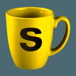 Kupa Bardak - Baskılı Renkli Kupa - Oval Kupa Bardak
