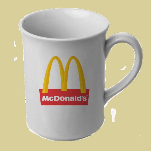 Toptan Beyaz Kupa - Promosyon Beyaz Kupa - Toptan Logo Kupa Baskı - Porselen BARDAK