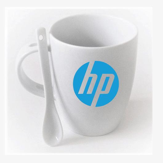 Kaşık Kupa Porselen